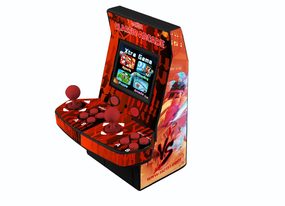 22 inch LCD coin-operated Mini Arcade Machine With Classical Game 645 In 1 PCB/With long shaft joystick and Illuminated button ayanami rei neon genesis evangelion action model anime figure white & black 2 style collection with box 24cm kids toy gift y7625