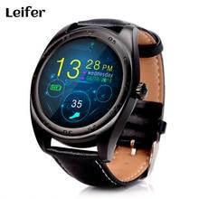 Leifer K89 Bluetooth Monitor de Ritmo Cardíaco Reloj Inteligente altavoz Incorporado Micrófono Smartwatch para iPhone Android Reloj Teléfono