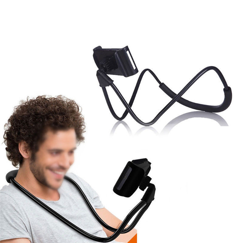 Universal Flexible Neck Phone Holder For iPhone Samsung Lazy Bracket Stand Desk Stents Table Clip BracketSelfie Bed Gooseneck