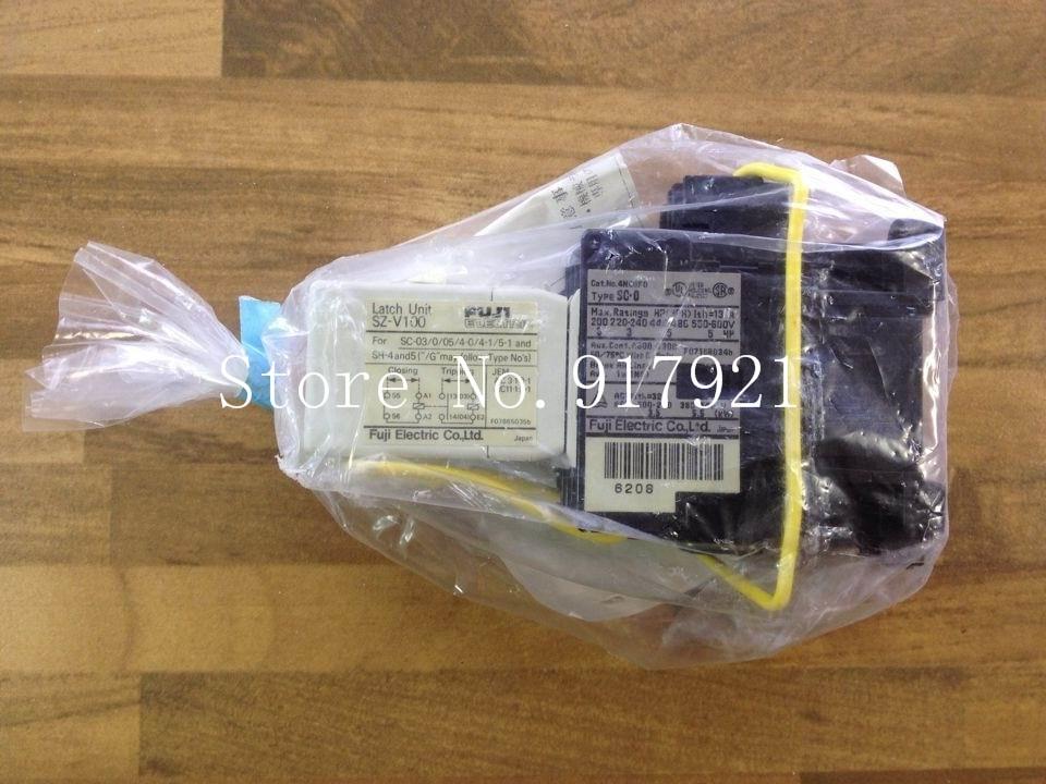 [ZOB] Fe S2-V100 SC-0/V 20A Fuji SC-0 AC contactor coil AC110V (genuine) --2pcs/lot цена