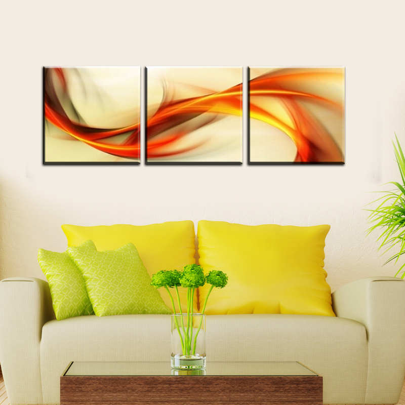 2016 New 3 pieces wall art big size 50cm*50cm Home Decor Modern ...