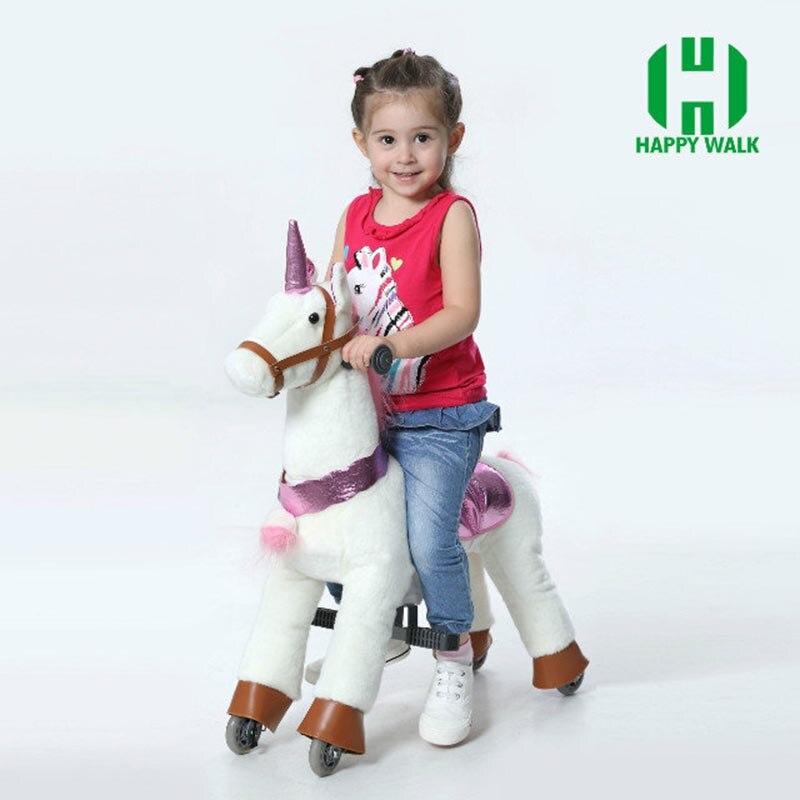 HI CE caballo de juguete al aire libre del patio sobre ruedas, - Deportes y aire libre - foto 3