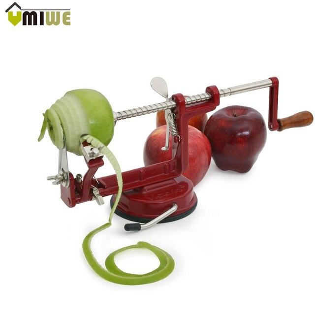 US $18.02  Apple Schäler zesters Schneiden Edelstahl Obst Maschine  Geschälten Werkzeug Kreative Heimat Küche Gemüse Kartoffelschneider Cutter  Bar in ...