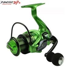 Superior Aluminum Carp Fishing Spinning Reel Fishing Reels Fishing 13 + 1BB 3 Color Green Gold Red 1000 – 700