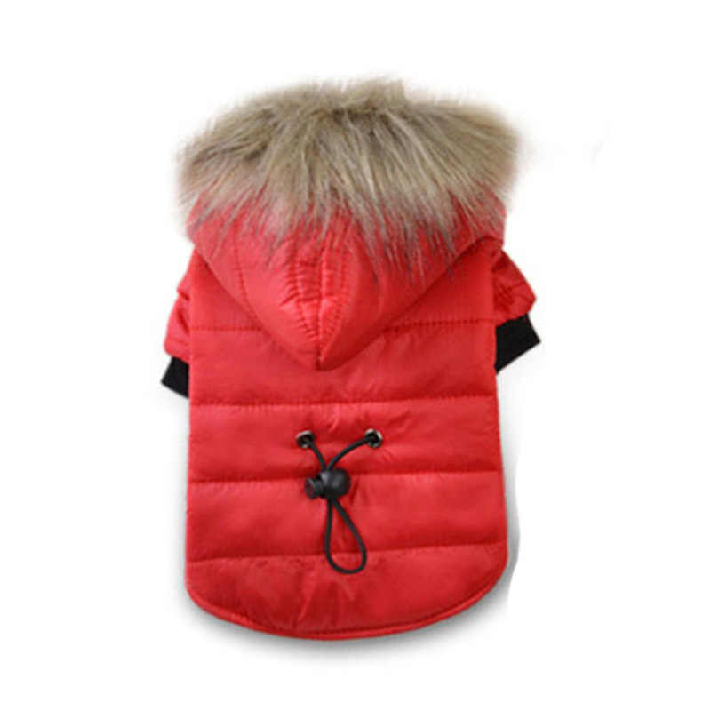 Winter Cat Clothes Pet Small Dog Cat Down Coat with Warm Hood for Cold Weather Windproof New Fashion Kitten Apparel XS S M L XL