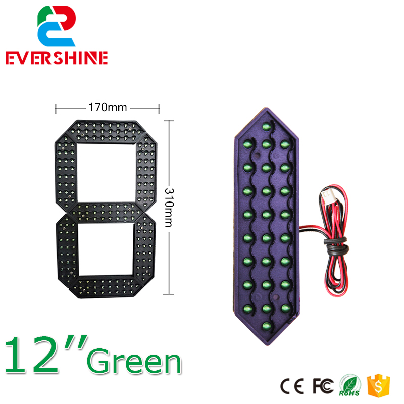 led digital numbers module led gas price oil station used module 7 segment of the 12'' green modules 100 pcs ld 3361ag 3 digit 0 36 green 7 segment led display common cathode