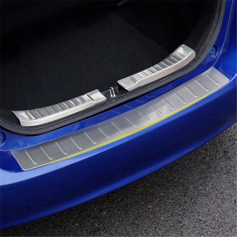 Acheter Automobile voiture couvre accessoires chrome styling après modification 14 modèles tronc threshpedal garniture 16 POUR Honda fit de honda trim fiable fournisseurs