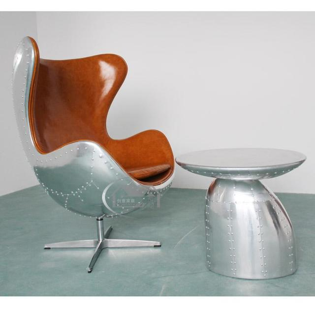 Schon Perfect Retro Nostalgie Computer Stuhl Sitzsack Eisen Industrie Loft Stil  Sessel Egg Chair With Egg Sessel.
