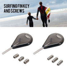9mm 12mm Surfboard Fins Fcs Fin Screw Surfboards Screws Surfing Board Fin Screws Replacement Kit Surfing Accessories