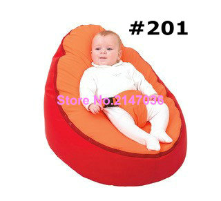 Cheap Baby Bean Bag Children Sofa Chair Cover Soft Snuggle Bed Without Fillings - domestic beige baby seat and sofa with 2 top covers nice quality baby infant bean bag cheap sale