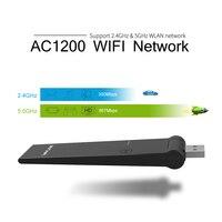 Wavlink USB AC1200 Dual Band Wireless Adapter 2 4GHz 5GHz External WIFI Dongle 802 11ac A