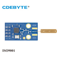 High performance E02PCS/Lot CDEBYTE CC1101 Wireless FSK Transceiver Module with 433MHz Spring antenna freeshipping 2pcs lot cc1101 wireless module 868m 915m wirless module with antenna