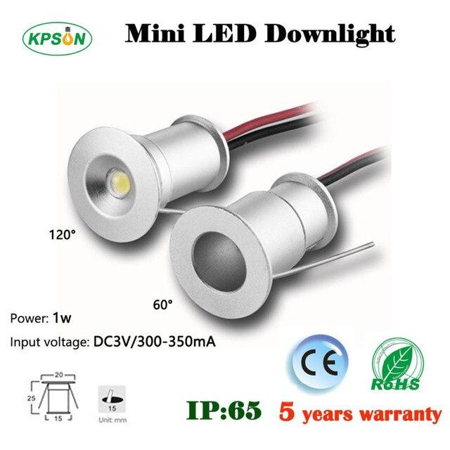 mini led spotlight led recessed light 1W 3V 12V IP65 for home garden kitchen led downlight ceiling light outdoor indoor CE Rohs