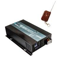 Чистая синусоида солнечный Мощность инвертор 3000 Вт 24 В постоянного тока до 220 В AC Автомобильный Инвертор Трансформатор 12 В /24/48 В до 120 В/230 В/240