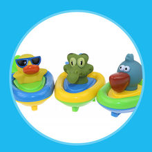 MUQGEW 2018 High Quality Baby Bath Toy Plastic Animal Boat Floating Toys Infant Kids Swimming Pool Shower Toy Funny Toys(China)