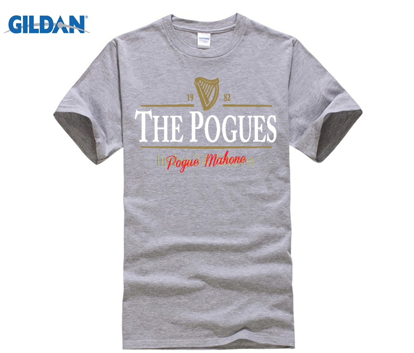 THE POGUES GUINNESS MASH-UP T SHIRT Irish Stout Punk Music Parody tee shirt
