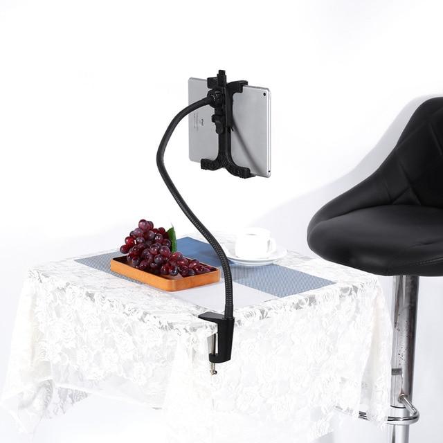 Горячая 360 Вращающаяся Настольная Подставка Кровать Ленивый Tablet Держатель для iPad Samsung