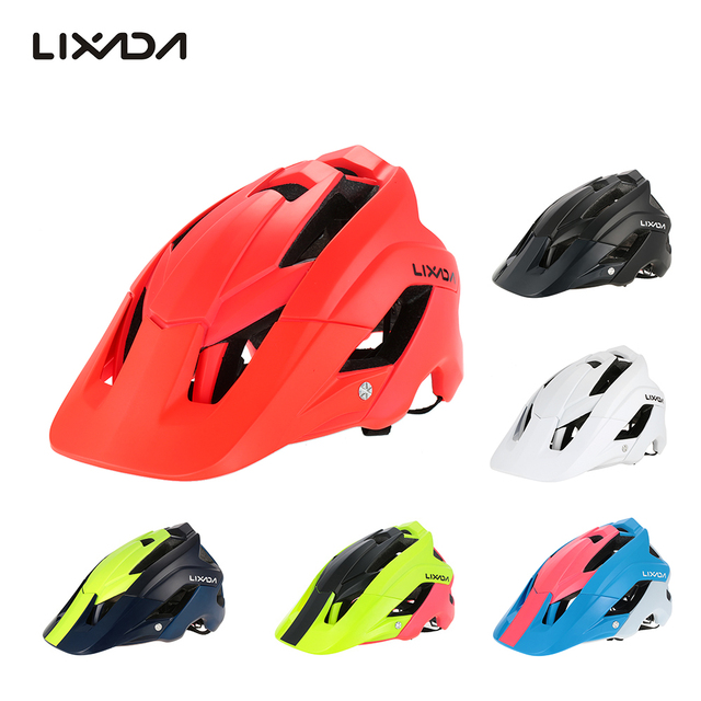 Lixada ciclismo capacete de ciclismo com segurança tampa ultra-leve mountain bike bicicleta capacete de proteção esportes 13 aberturas 2