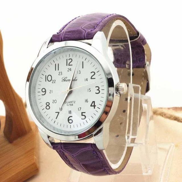 Gift Erkek Kol Saati Saat Clock Relogio Masculino Elegant Analog Luxury Sports Leather Strap Quartz Mens Wrist Watch 2017