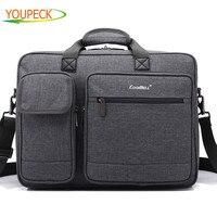 Laptop bag 15.6 15 17 17.3 inch notebook bags shoulder Messenger Nylon airbag men computer bags fashion handbags Women Briefcase