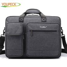 Laptop bag 15 6 15 17 17 3 inch notebook bags shoulder Messenger Nylon airbag men