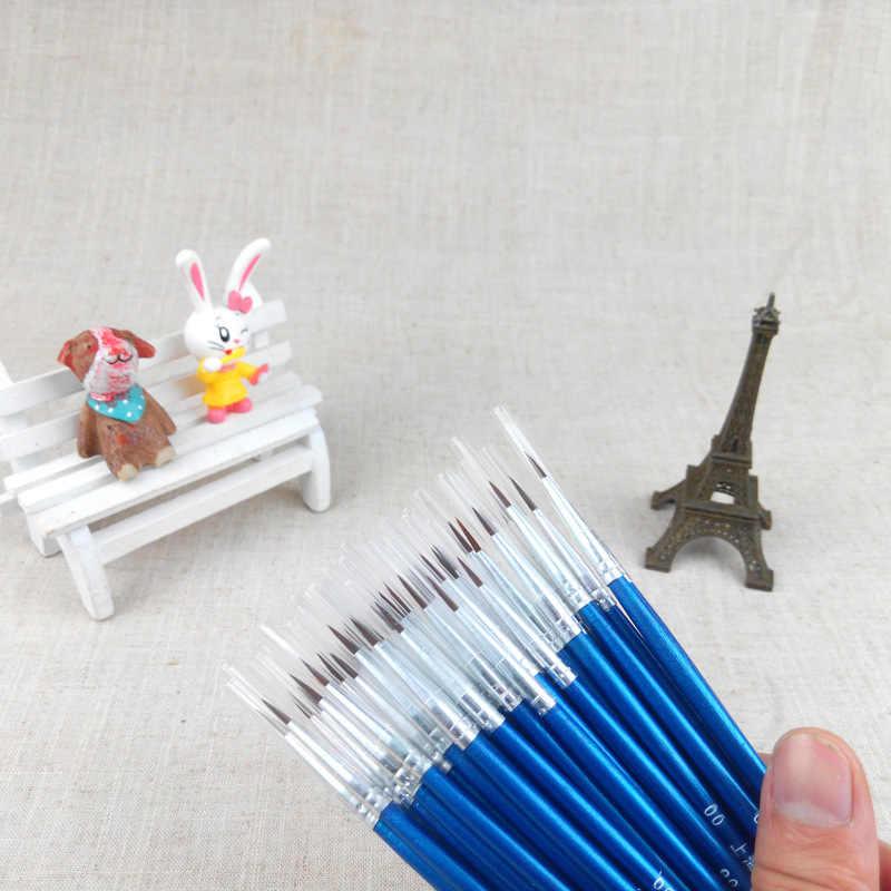 1 stück Mode Neue Stil Tiny Liner Acryl Nail art Design Pen Malerei Zeichnung Pinsel DIY Tropfen Verschiffen
