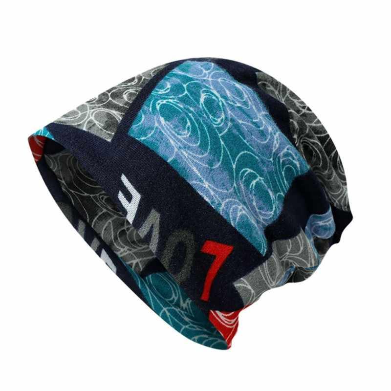 2018 Mới Nam Nữ Mùa Thu Mùa Đông Đan Mũ Phụ Nữ Người Đàn Ông Thể Thao Ngoài Trời Đi Bộ Đường Dài Mũ Ấm Cap Dệt Kim Mũ Đi Xe Đạp Hat bán buôn