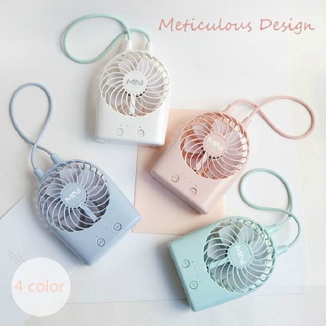 2019 Summer New usb rechargeable cute mini fan desktop electric small portable handheld USB Electric Mini Hand