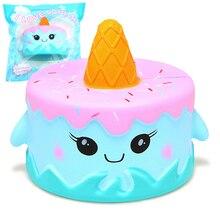 Jumbo Squishy Χαριτωμένο Squishy κέικ φάλαινας Σούπερ Αργή Κρέμα αυξάνεται Αρωματικά Αρχικό Πακέτο Squeeze Toy