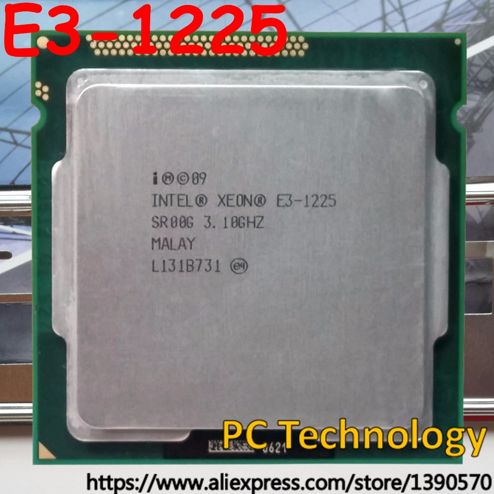 Intel Xeon E3-1225V2 3.20GHz 8MB 5GT//s LGA1155 Processor SR0PJ