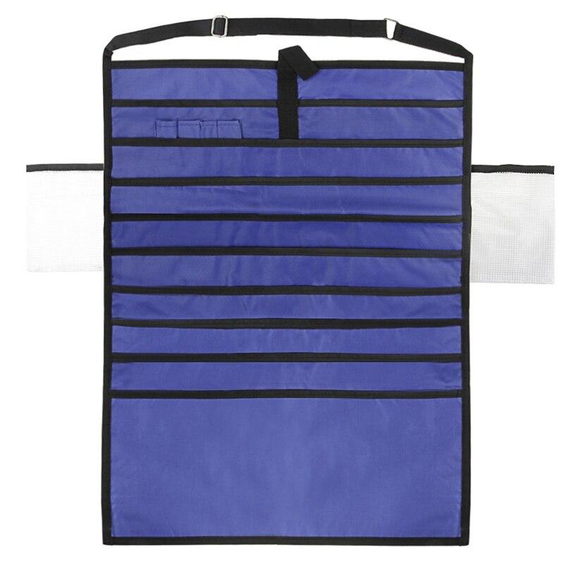 Adjustable Stationery Organizer Students Classroom Desk Hanging Books Files Pen Storage Bag Classroom Desktop Hanging Rack