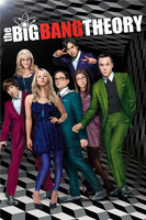 PL 221 Custom The Big Bang Theory Home Decor Modern For Bedroom Wall Poster Size 40X60cm