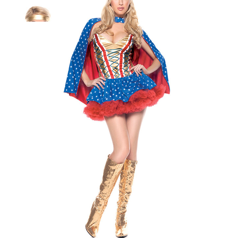Marvel Wonder Woman Costume