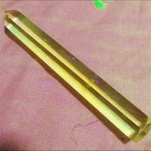 125 158 г плавленый кварцевый кристалл палочка ТОЧКА ультра длинный кристалл обелиск. Энергии Кварцевые камни камень