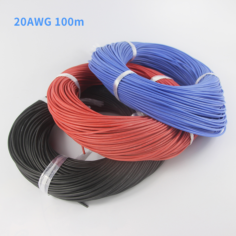 Silicone Cable Flexible Wire 16-26 28 30AWG Copper Tinned HIGH TEMP UL3135 Gray
