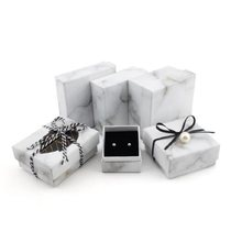 Jewery Organizer Box Rings/Earrings/Bracelet necklace Storage Small Gift Box DIY craft Display Case Package Wedding/etc new wh(China)