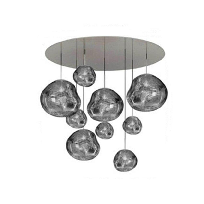 Moderne Lumière Lustre Éclairage Tom DIXON Fondre Lave Pendentif Lampes Lumière Salon Chambre HangLamps Restaurant Accueil Luminaire