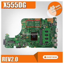 for ASUS X555D X555D-WB11 Motherboard 60NB09D0-MB1310 A10-8700P 4GB RAM With Processor Mainboard 100% tested