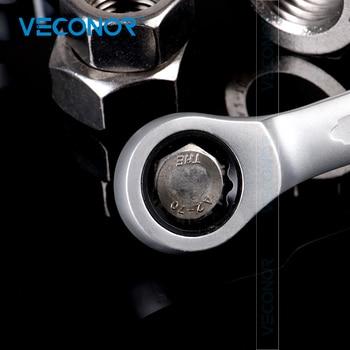 13-32mm מחגר ברגים ברגים הילוך טבעת רכב תיקון יד כלים CRV פלדה משעמם פולני 72T קרקוש מדריך לשמור