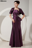 Sexy Strapless Evening Dress With Jacket Elegant Mother Of The Bride Dresses Crystal Evening Dresses Long