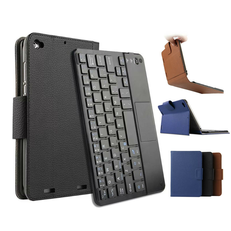 For Xiaomi MiPad 3 Mipad 2 PU Leather Case Cover Mipad2 Protective Stand Skin For Xiaomi Mipad3 Shockpoof Fundas With Keyboard