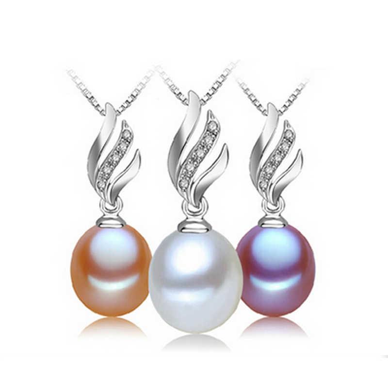FENASY naturalna perła słodkowodna naszyjnik moda 925 srebro Boho oświadczenie Punk Gothic naszyjnik łańcuch perła biżuteria
