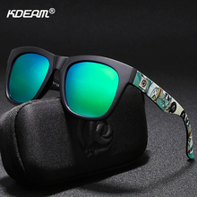 KDEAM Fast-modern Men Sunglasses Polarized Uniqueness Design