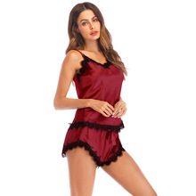 women sets clothes sexy lace pullover fashion two piece set top and pants sleepwear woman summer holiday matching casual