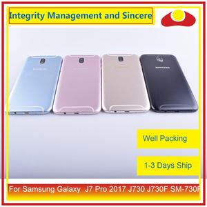Image 2 - Original Für Samsung Galaxy J7 Pro 2017 J730 J730F SM 730F Gehäuse Batterie Tür Rahmen Zurück Abdeckung Fall Chassis Shell