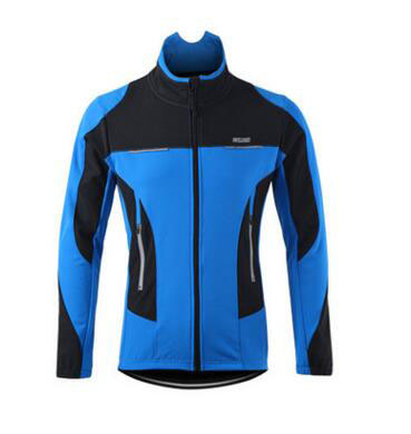 ФОТО Wind and rain in autumn and winter fleece windproof thermal bike Jersey jacket long sleeve coat sweater