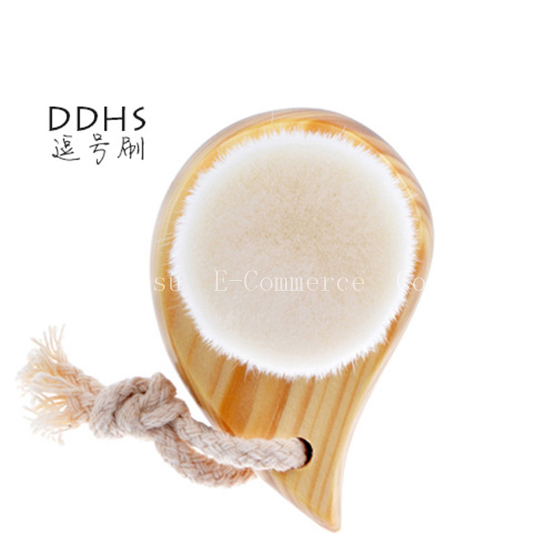 Professional Women Makeup Comma Brushes 1pcs Cleansing Wash Brush Grade Brush  Artifact Cosmetic Make-up Brush comma жакет comma 81501546487 3214