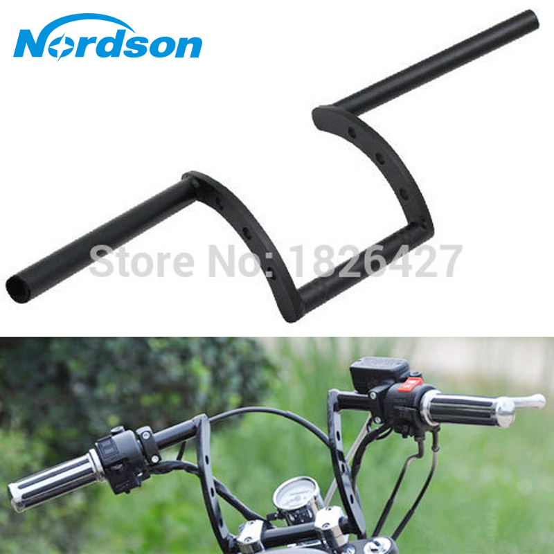 Drag Pullback Motorcycle Handlebar 7/8'' 22mm or 1 25mm Z Bars For Harley Davidson Sportster XL883 XL1200 Dyna Glide Bobber bars брюки 7 8