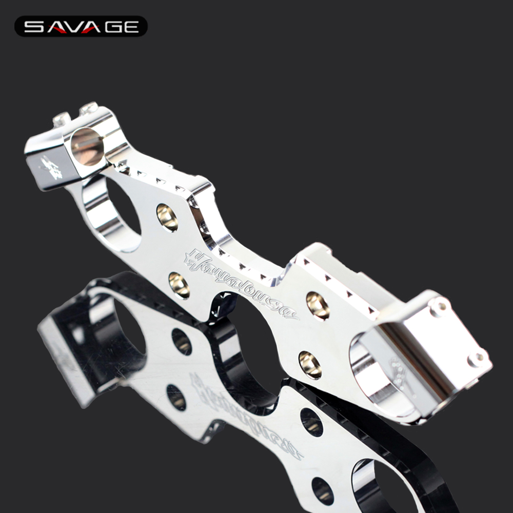 Front Forks Lowering Triple Tree Upper Top Clamp For SUZUKI GSX 1300R 1300 R GSX1300R HAYABUSA 2008-2018 13 2014 2015 2016 2017