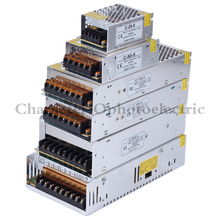 Power Supply DC12V 1A 2A 5A 8.3A 10A 15A 16.7A 20A 25A 30A 33A 40A 50A lighting Transformers LED Driver For LED Strip Switch цены